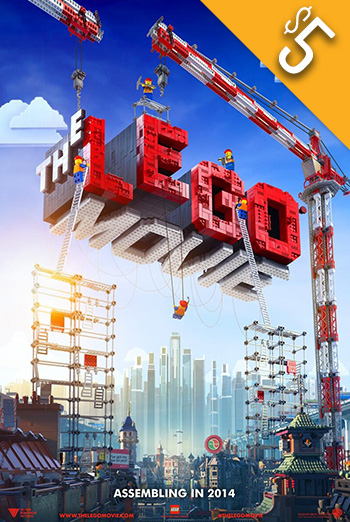 Lego Movie, The movie poster
