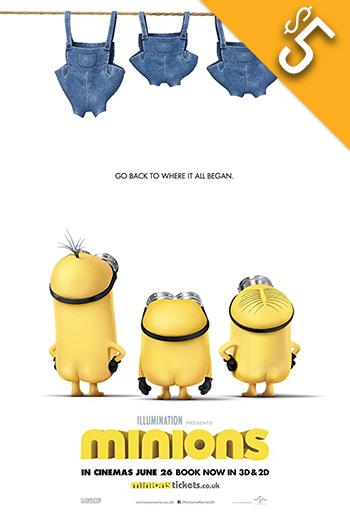 Minions movie poster
