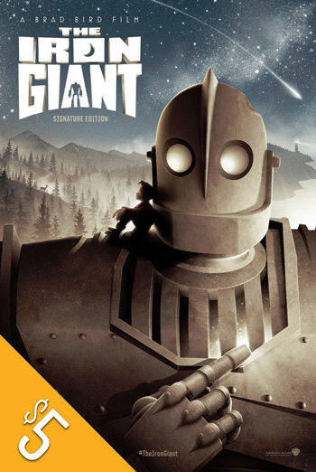 Iron Giant: Signature Edition, The movie poster