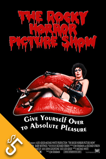 Rocky Horror Picture Show, The movie poster