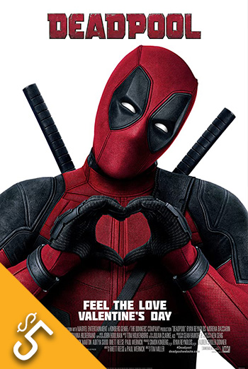 Deadpool - in theatres 02/12/2016