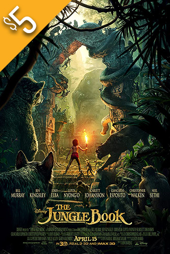 Jungle Book, The movie poster