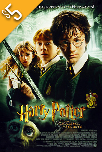 Harry Potter & Chamber of Secrets movie poster