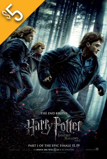 Harry Potter & Deathly Hallows Pt 1 movie poster