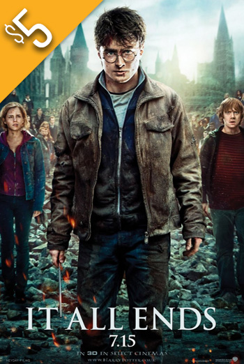 Harry Potter & Deathly Hallows Pt 2 movie poster