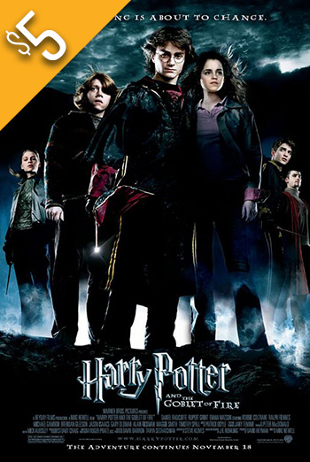 Harry Potter & Goblet of Fire movie poster
