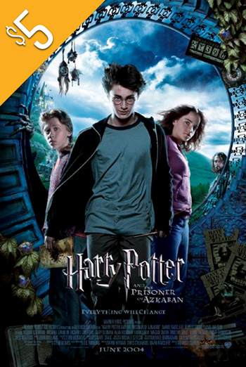 Harry Potter & Prisoner of Azkaban movie poster