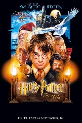 Harry Potter & Sorcerer's Stone movie poster