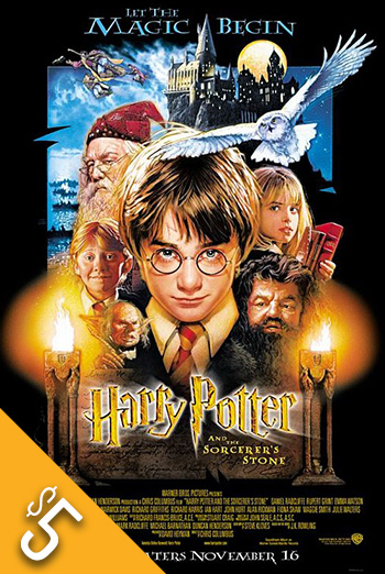 Harry Potter & Sorcerer's Stone movie poster