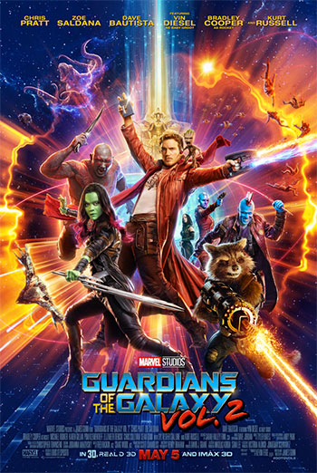 Guardians of the Galaxy Vol 2 - in theatres 05/05/2017