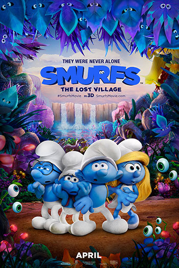 Smurfs: The Lost Village - in theatres 04/07/2017