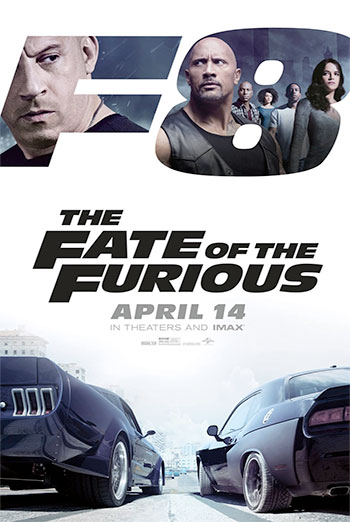 Fate of the Furious, The movie poster