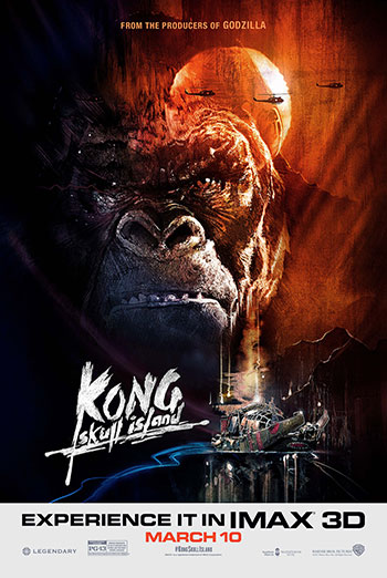 Kong: Skull Island (IMAX) movie poster