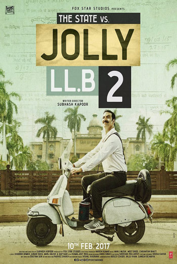 Jolly LLB 2 (Hindi W/E.S.T.) - in theatres 02/10/2017