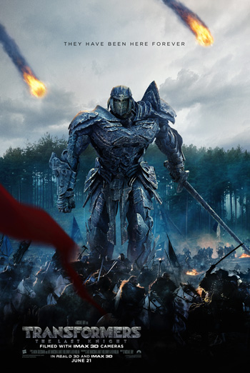Transformers: The Last Knight - in theatres 06/21/2017
