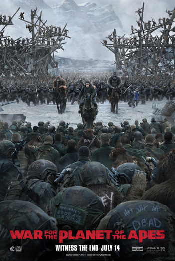 War For the Planet of the Apes - in theatres soon