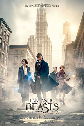 Fantastic Beasts (March Movie Break) - in theatres 11/18/2016