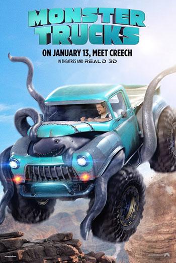Monster Trucks (March Movie Break) - in theatres 01/13/2017
