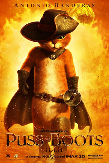 Puss in Boots (March Movie Break) - in theatres 03/03/2017