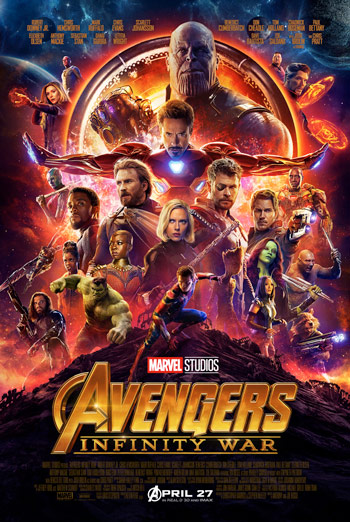 Avengers: Infinity War - in theatres 04/27/2018