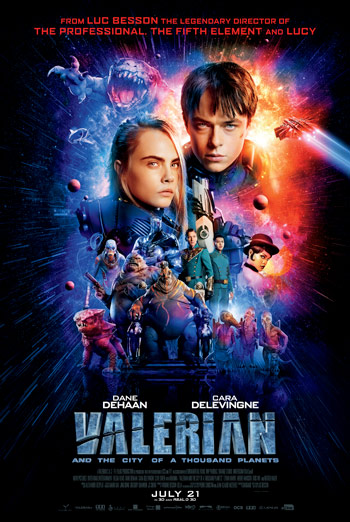 Valerian and the City of a Thousand Planets - in theatres soon