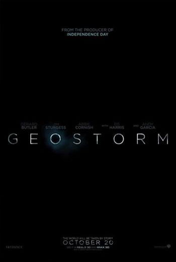 Geostorm - in theatres 10/20/2017