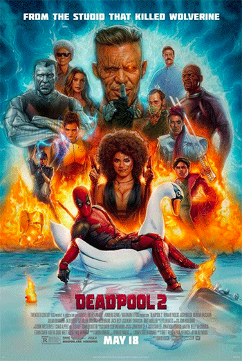 Deadpool 2 - in theatres soon