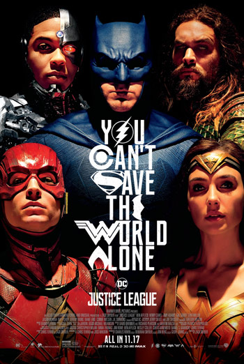 Justice League - in theatres soon