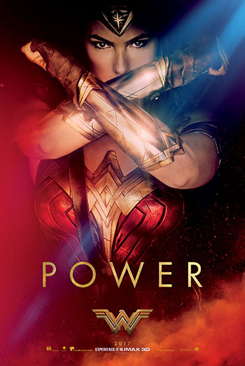 Wonder Woman (IMAX) movie poster