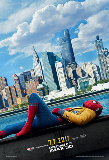 Spider-Man: Homecoming (IMAX) movie poster