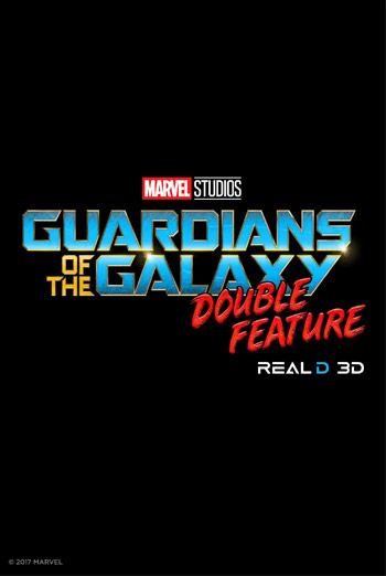 Guardians of the Galaxy DBL FEATURE(3D) movie poster