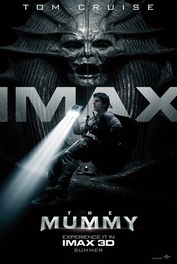 Mummy, The (3D) IMAX movie poster