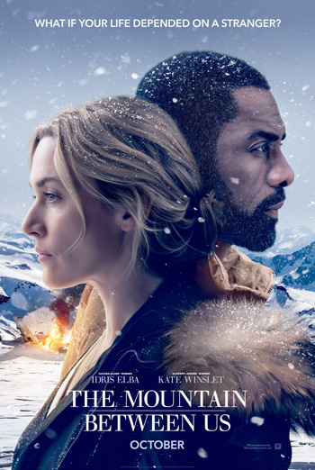 Mountain Between Us, The movie poster