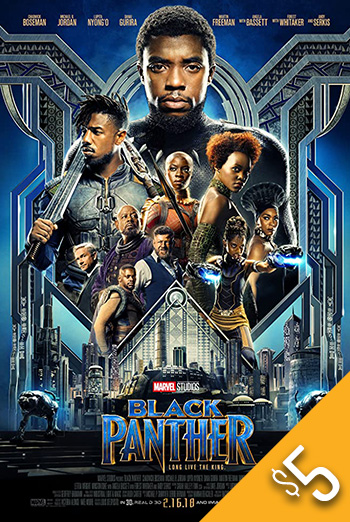 Black Panther - in theatres 02/16/2018