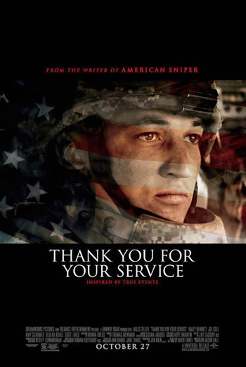 Thank You For Your Service - in theatres soon