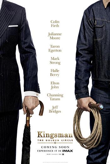 Kingsman: The Golden Circle (IMAX) movie poster