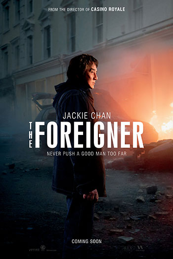 Foreigner, The movie poster