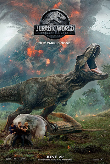 Jurassic World: Fallen Kingdom - in theatres 06/22/2018