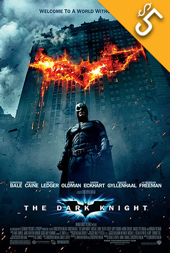 Dark Knight, The movie poster