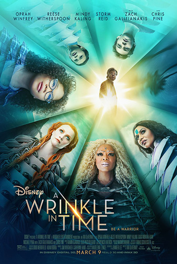 Wrinkle in Time, A movie poster