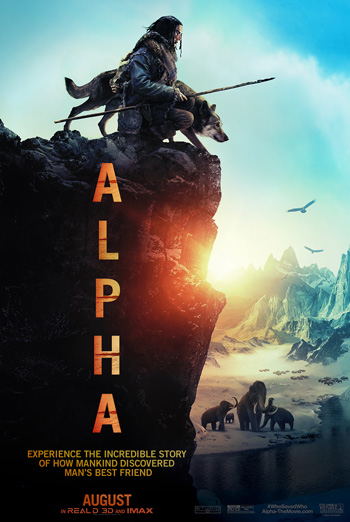 Alpha (IMAX) movie poster