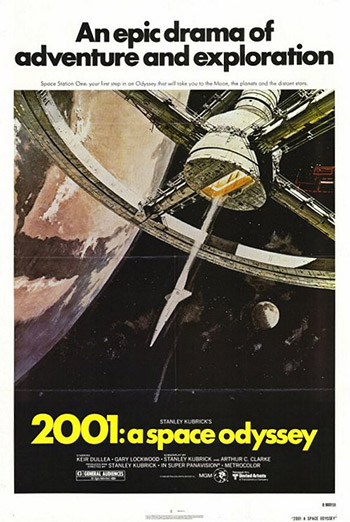 2001: A Space Odyssey (Classic Film Series) movie poster
