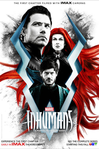 Marvel's Inhumans (IMAX) movie poster