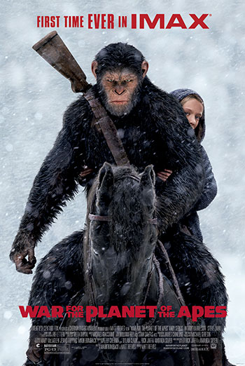 War For the Planet of the Apes (IMAX) - in theatres 07/14/2017