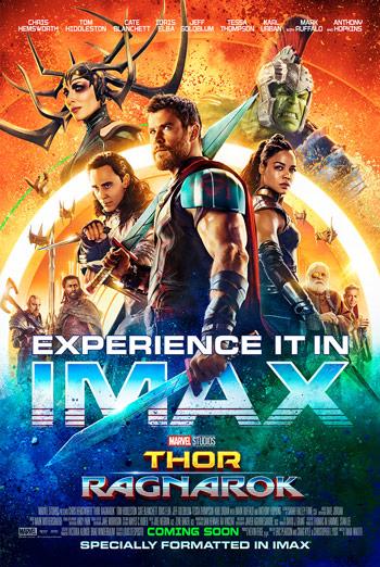 Thor: Ragnarok (IMAX) - in theatres 11/03/2017