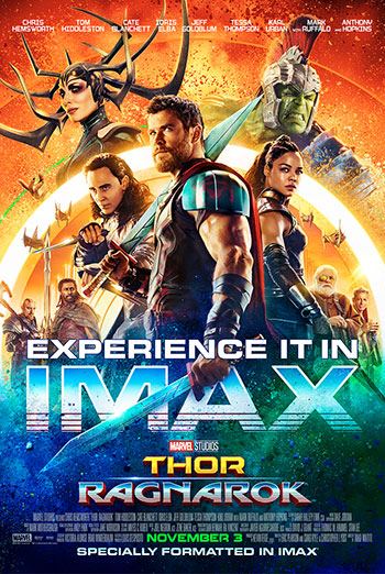 Thor: Ragnarok (IMAX) movie poster