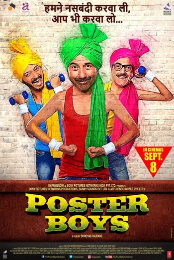Poster Boys(Hindi W/E.S.T) movie poster