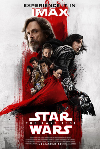 Star Wars: The Last Jedi (IMAX) movie poster