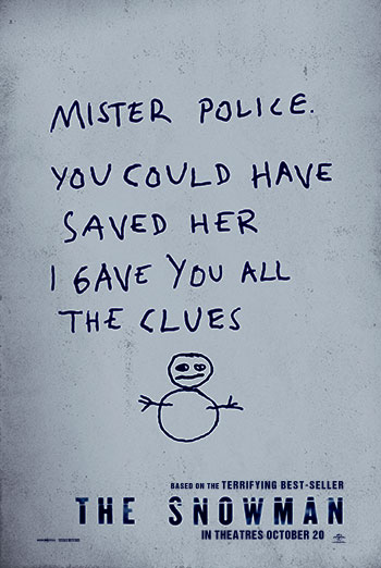 Snowman, The movie poster