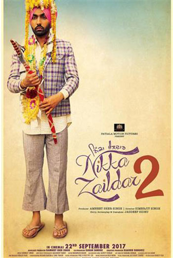 Nikka Zaildar 2(Punjabi W/E.S.T.) movie poster